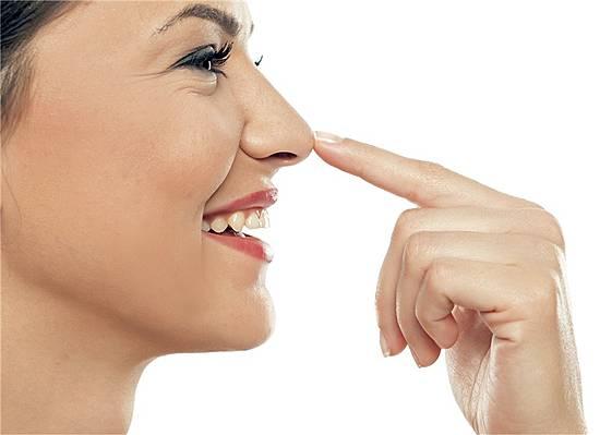 Borken nase der schmerzhafte in Nasenschorf beim