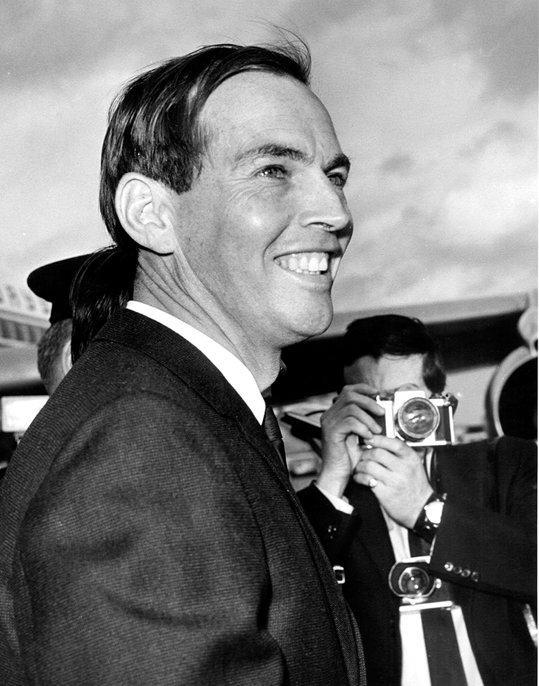 Christiaan Barnard gilt als der Pionier der Herztransplantationen. / Foto: Imago/United Archives International